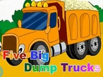 Five Big Dump Trucks-英文儿歌